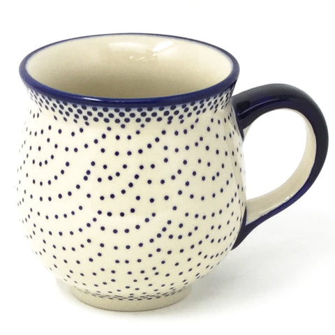 Polish Pottery Gentlemen's Cup 16 oz (K-068S) Simple Elegance