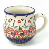Polish Pottery Gentlemen's Cup 16 oz (K-068S) Simply Beautiful