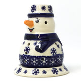 Snowman Tea Candle Holder in Snowflake