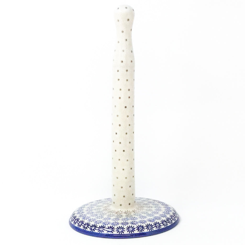 Polish Pottery Paper Towel Holder in All Stars All Stars