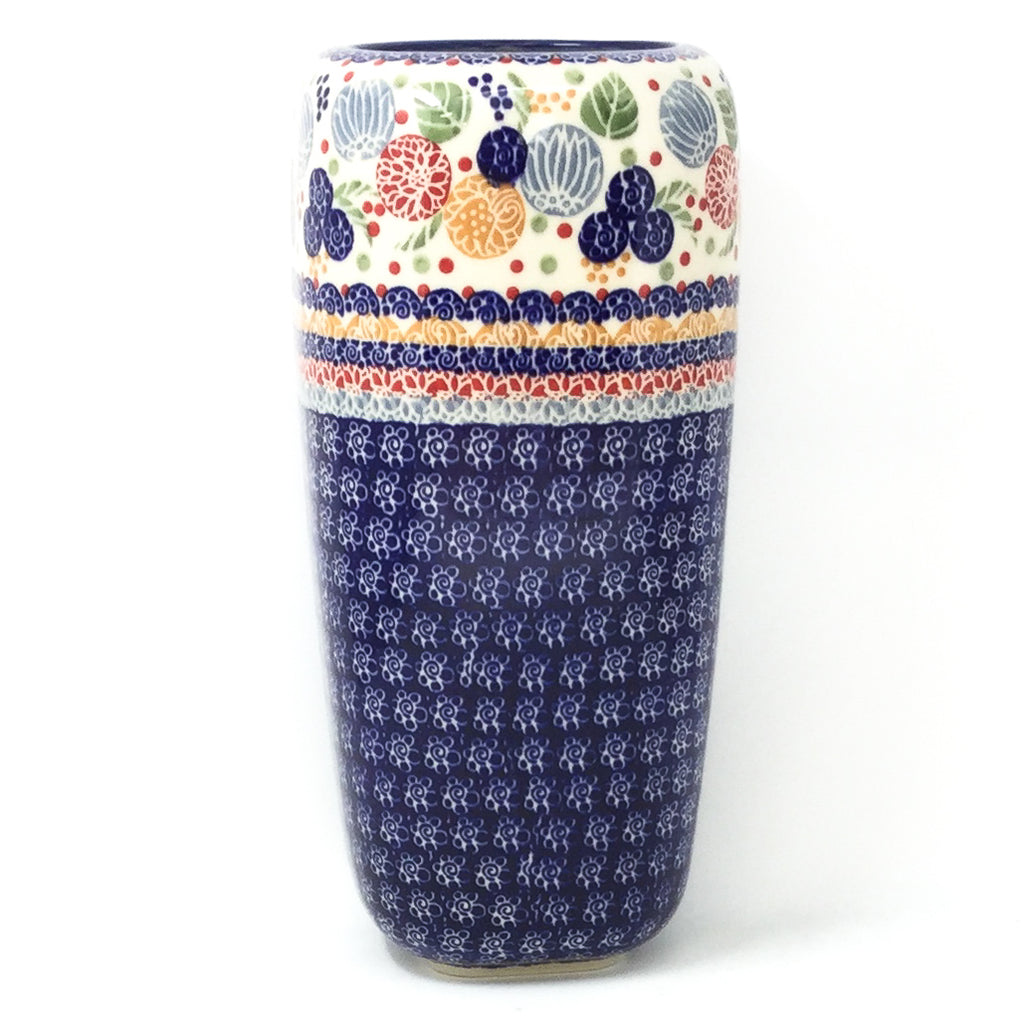 Polish Pottery Md Modern Vase in Modern Berries Modern Berries