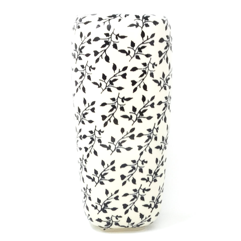 Polish Pottery Md Modern Vase in Simply Black Simply Black