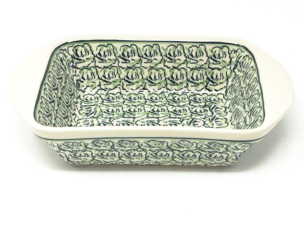 Polish Pottery Sm Rectangular Baker w/Lip 1186