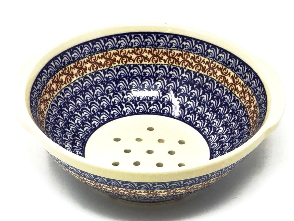 Polish Pottery Strainer 64 oz 1117