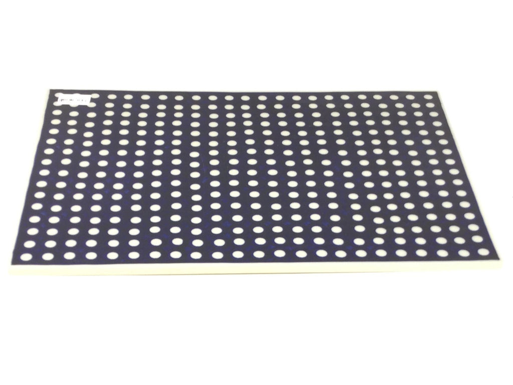 Polish Pottery Rectangular Cutting Board in White Polka-Dot White Polka-Dot