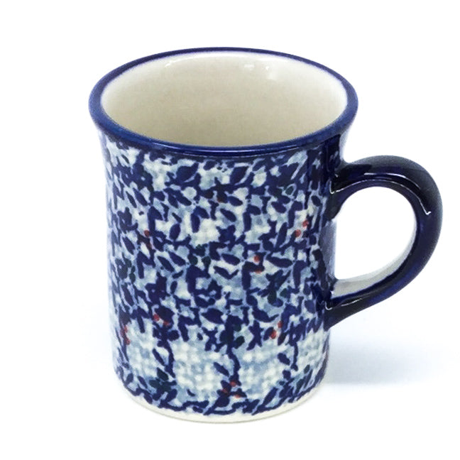 Polish Pottery Espresso Cup 4 oz in Secret Garden Secret Garden