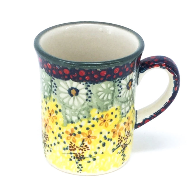 Polish Pottery Espresso Cup 4 oz in Cottage Decor Cottage Decor