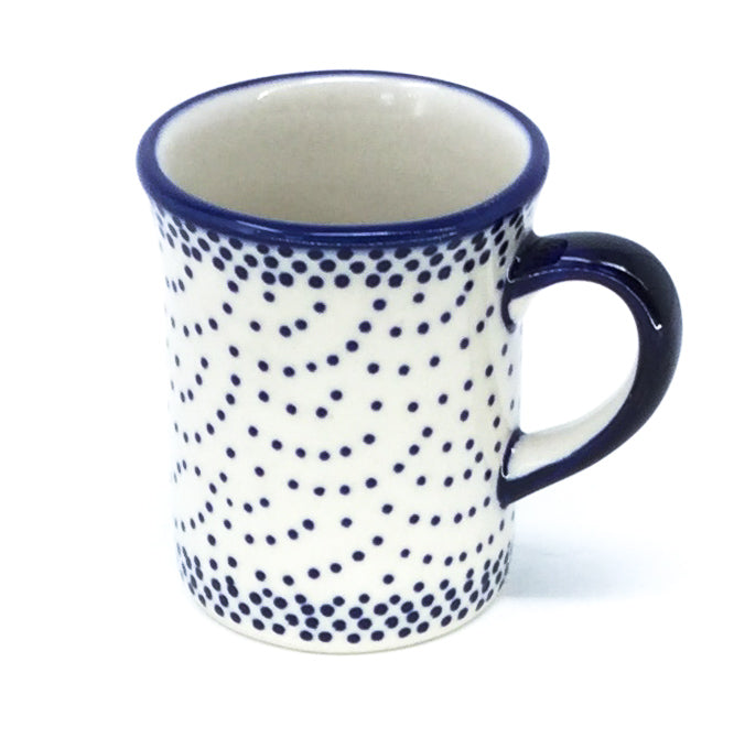 Polish Pottery Espresso Cup 4 oz in Simple Elegance Simple Elegance