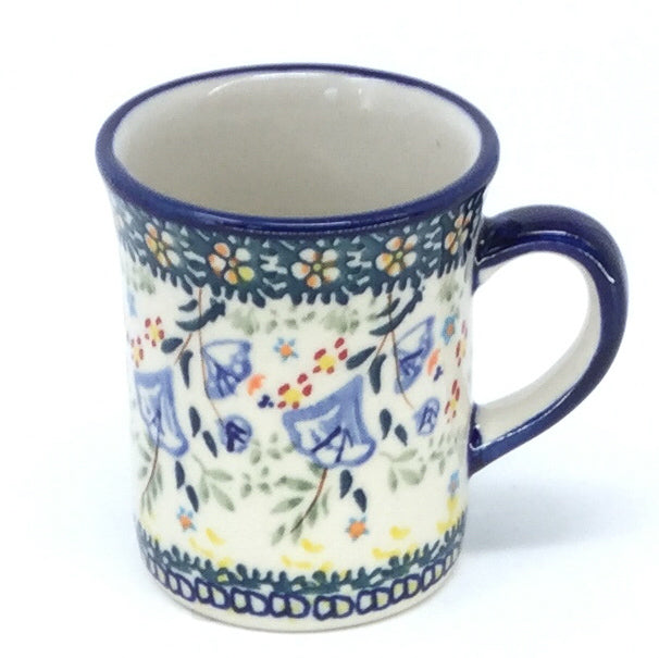 Polish Pottery Espresso Cup 4 oz in Autumn Autumn