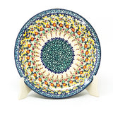 "Polish Pottery Round Dinner Plate 10"" (T-132S) Country Fall"
