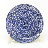 "Polish Pottery Round Dinner Plate 10"" (T-132S) Secret Garden"
