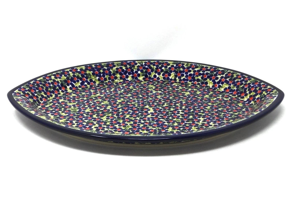 Polish Pottery Oval Server DU206