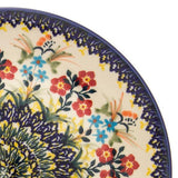 Polish Pottery Soap Dish (M-063) Autumn Bouquet