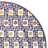 Polish Pottery Soap Dish (M-063) Modern Checkers
