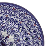 "Polish Pottery Fluted Pasta Bowl 15""x3.5"" (P-130) Secret Garden"