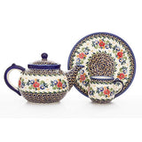 Polish Pottery Teapot Warmer (P-056) Late Spring