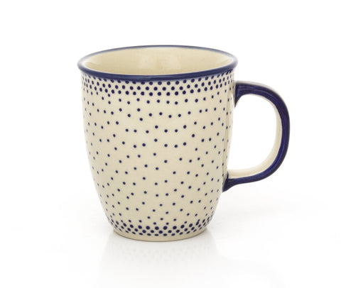 Polish Pottery Bistro Cup 10.5 oz