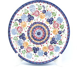 "Polish Pottery Round Dinner Plate 10"" (T-132S) Modern Berries"