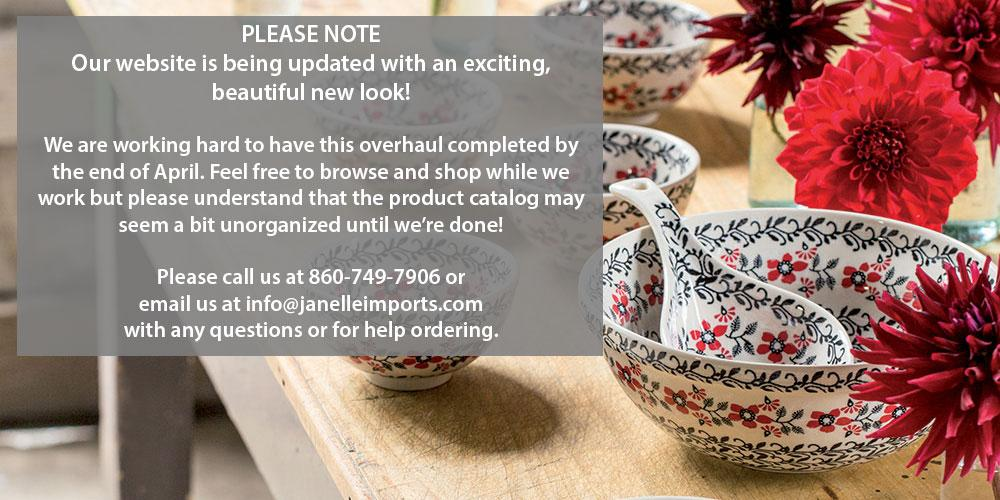 Polish Pottery at Janelle Imports