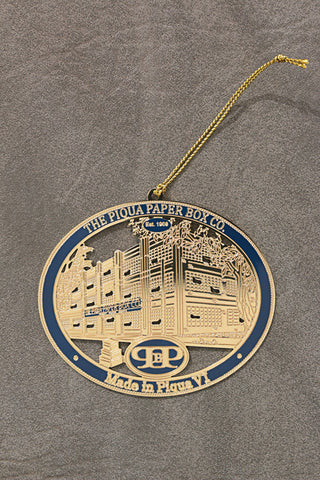 "Piqua Paper Box Company ""Made in Piqua"" Ornament"