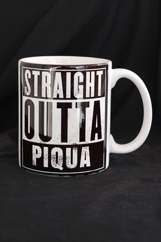 Straight Outta Piqua Coffee Mug