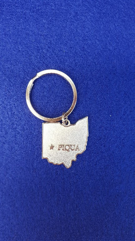 Piqua Key Chain