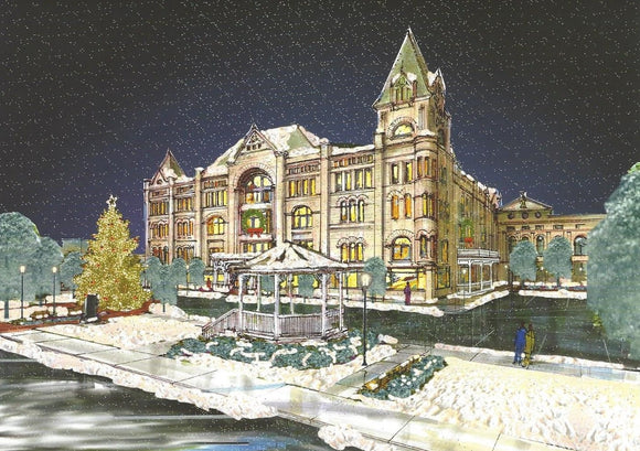 Fort Piqua Plaza Holiday Cards