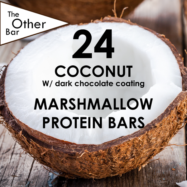 Dark Chocolate covered Coconut protein bar (24 bars)