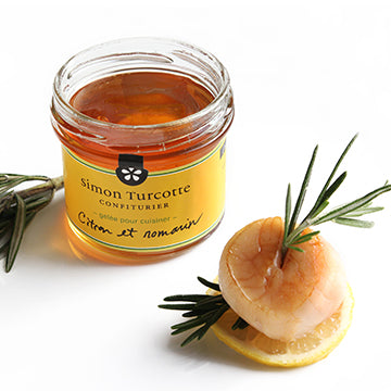 Gelée de citron et romarin - Lemon and Rosemary jelly 125 ml