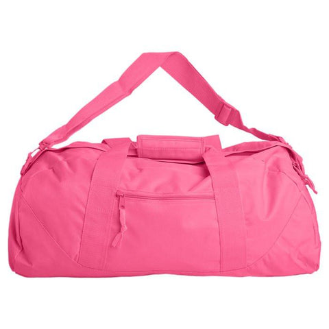 Personalized Large Pink Gym Bag
