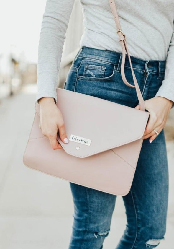 Coco and Kiwi - Milan Clutch Purse - Lilac