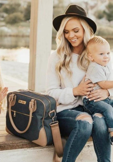 Coco and Kiwi - /Midnight Blue/ Provence Bag - Diaper Bag