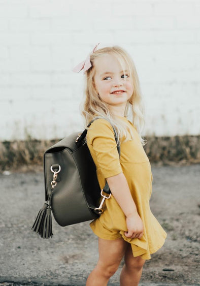 Coco and Kiwi - Mini Austin Satchel /Olive/ - Diaper Bag