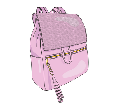 Preorder The Austin Backpack /Blush/