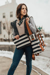 Provence Bag /Black Stripe/