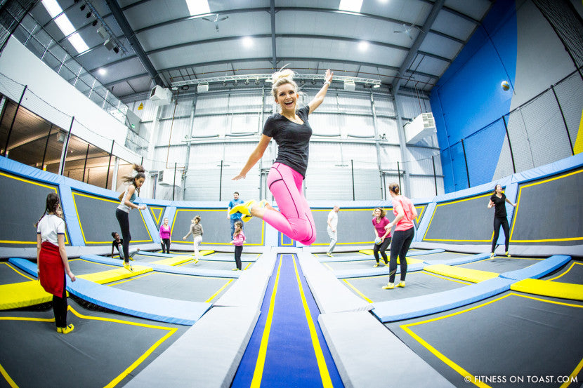 6 BENEFITS OF TRAMPOLINING!