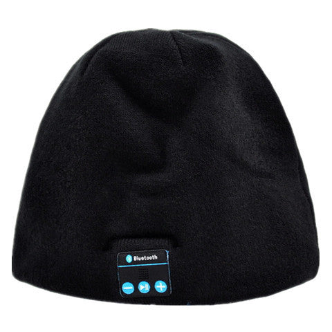 Beanie Hat with Bluetooth Speakers and Mic
