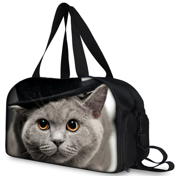 Fitness Duffle Bag for Cat Lovers