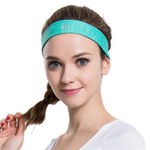 5Pcs/lot Professional Nylon Women Sweatbands