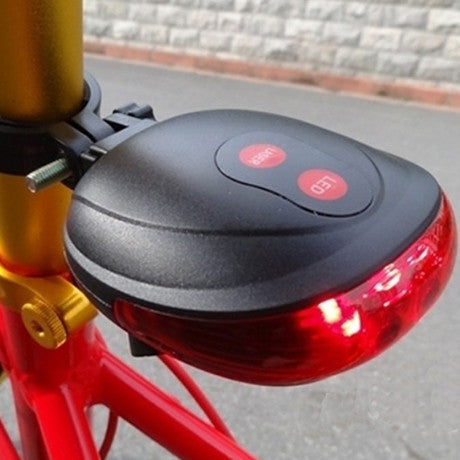 Bike Laser LED Tail Light - BoardwalkBuy - 2