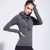 Women Workout Top Hoody Gym T Shirts Fitness Clothing Sport Sweatshirts - Rama Deals - 3