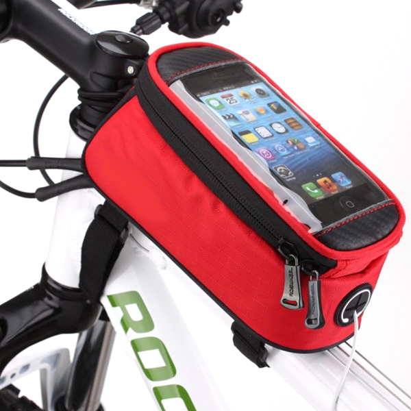 Bike Frame Pouch and Smartphone Holder