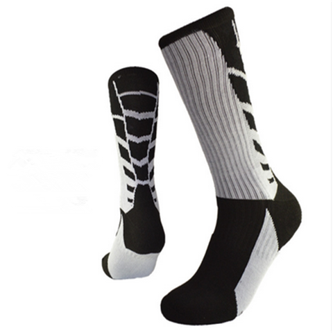 High Quality Breathable Cotton Socks Thickened Professional Long Socks