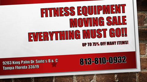 Fitness Equipment Moving Sale - Fitness Trendz USA