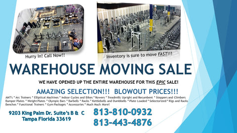 Moving Sale Fitness Trendz USA