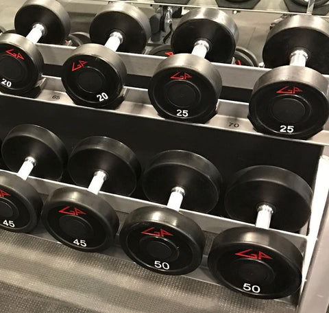 American Barbell GP Industries Urethane Dumbbells - Fitness Trendz USA
