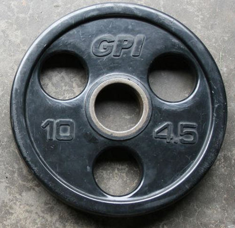 American Barbell Rubber Coated Olympic Plates - Fitness Trendz USA