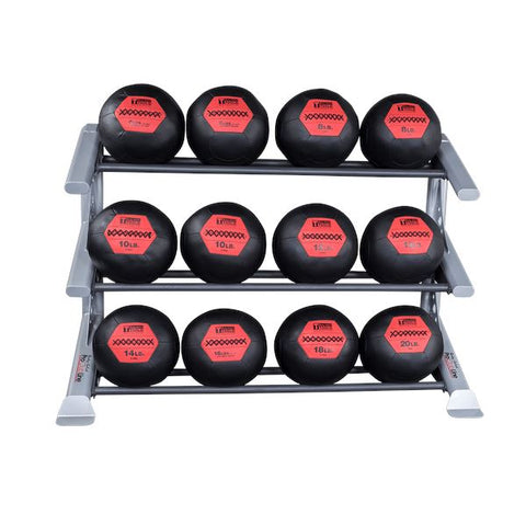 Body-Solid 3 Tier PCL Medicine Ball Rack - Fitness Trendz USA