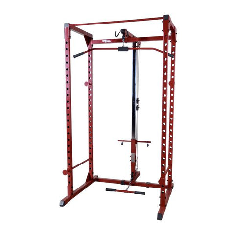 Body-Solid Best Fitness Power Rack with Lat Attachment - Fitness Trendz USA