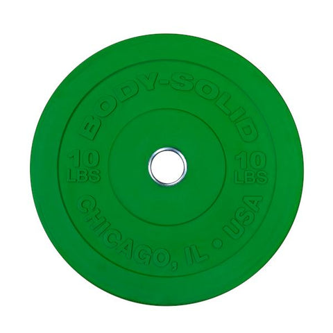 Body-Solid Chicago Extreme Color Bumper Plate Pairs - Fitness Trendz USA